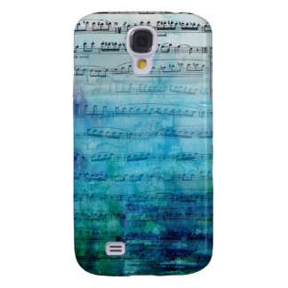 Blue Mood Music Galaxy S4 Case