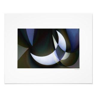 "Blue Moon 20""x16"" Photographic Print"
