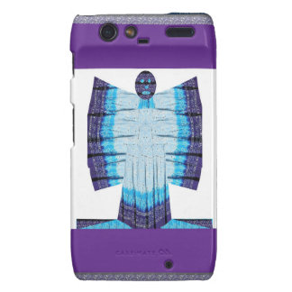 Blue Moon Angel Butterfly made of Cotton Fabric 99 Droid RAZR Covers