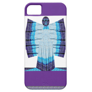 Blue Moon Angel Butterfly made of Cotton Fabric 99 iPhone 5 Cases