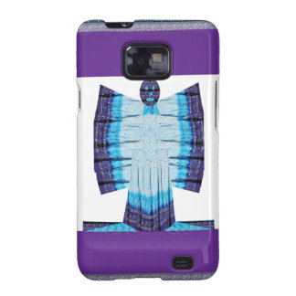 Blue Moon Angel Butterfly made of Cotton Fabric 99 Samsung Galaxy S2 Case