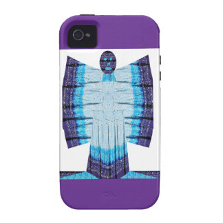Blue Moon Angel Butterfly made of Cotton Fabric 99 iPhone 4/4S Covers