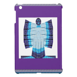 Blue Moon Angel Butterfly made of Cotton Fabric 99 Cover For The iPad Mini