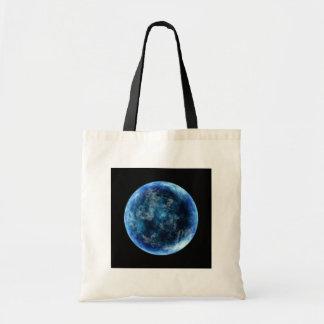 blue moon canvas bag