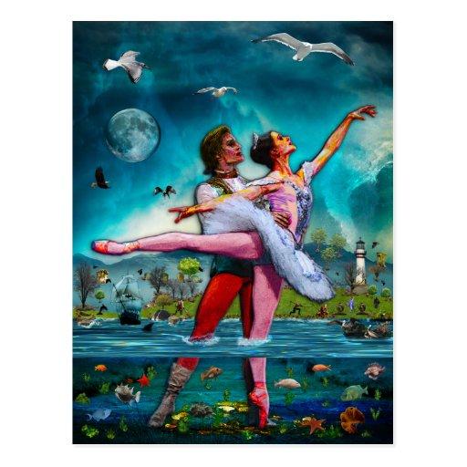 Blue Moon Ballet A Complete Fiction Post Card