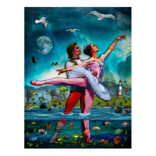 Blue Moon Ballet A Complete Fiction Postcard