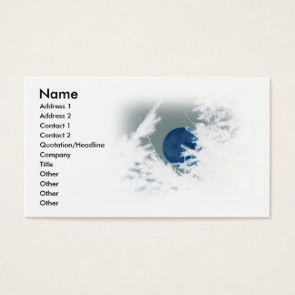 Blue Moon Business Card