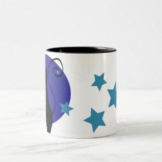 Blue Moon Cat Mug