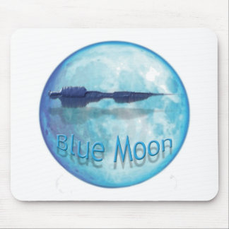 Blue Moon City WaveZ Mouse Mat