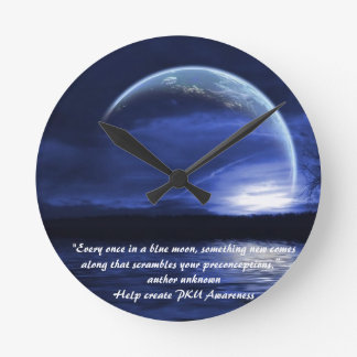 blue moon clock