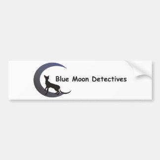 Blue Moon Detectives Bumper Sticker