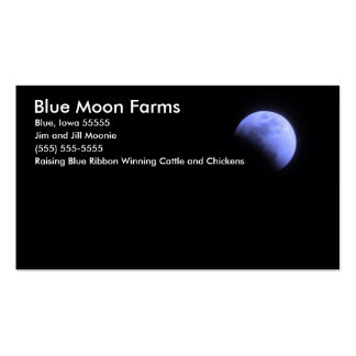 Blue Moon Farms Pack Of Standard Business Cards