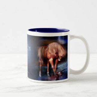 Blue Moon Horse Art Mug