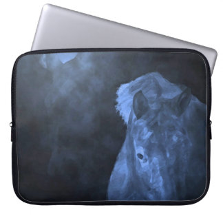 Blue Moon Horses Laptop Sleeve