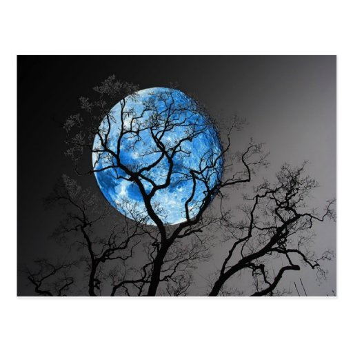BLUE MOON POST CARDS