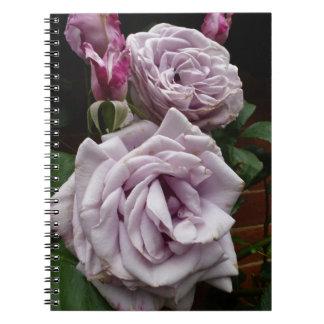 Blue Moon Rose Notebook