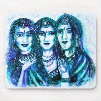 Blue Moon Trio Mousepad