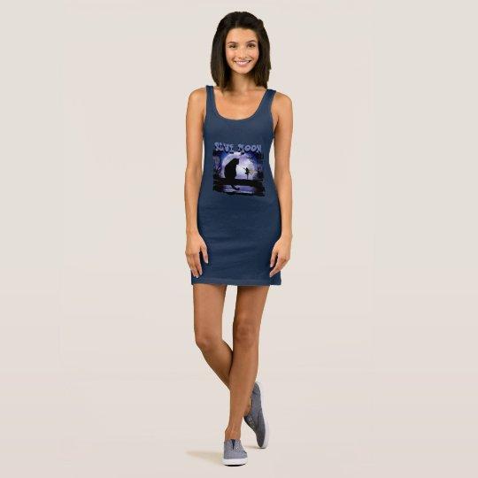 Blue Moon Women's Jersey Tank Dress