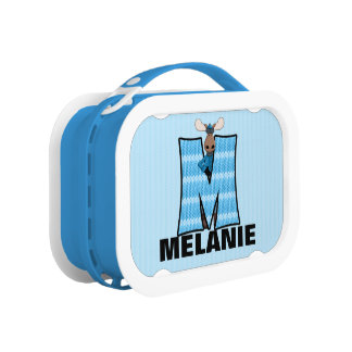"Blue Moose Monogrammed ""M"" Camouflage Lunch Box"