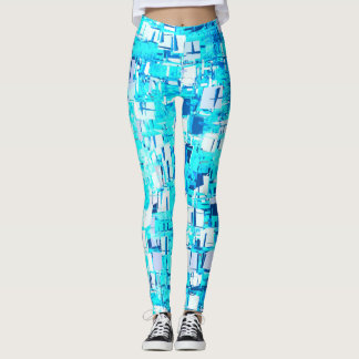 blue more shiver leggings
