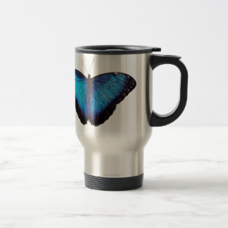 Blue Morpho Butterflie Coffee Mug