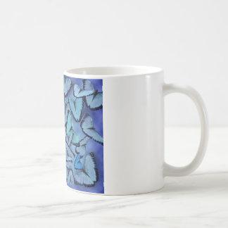 Blue Morpho Butterflies Mug
