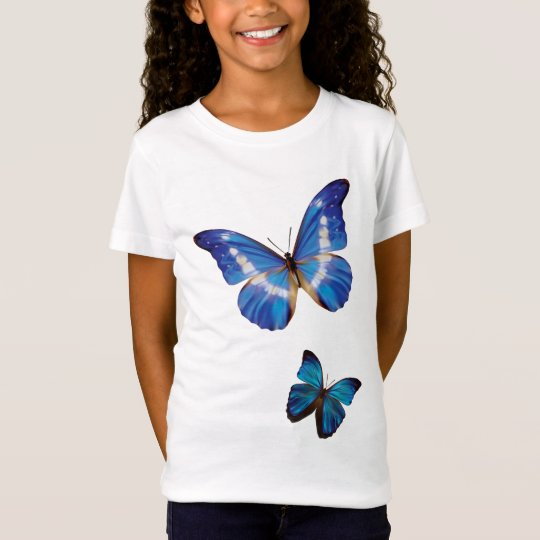 Blue Morpho Butterflies T-Shirt