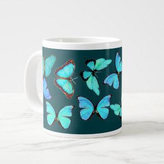 Blue Morpho Butterflies Wildlife Animals Mug