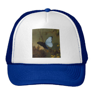 Blue Morpho Butterfly 1865 Spring Personalize Art Cap