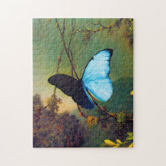 Blue Morpho Butterfly Puzzle