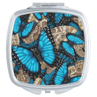 Blue Morpho Butterfly Vanity Mirrors