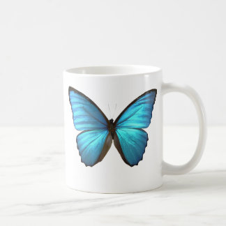 Blue Morpho Butterfly Wings Mug
