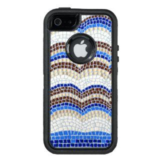 Blue Mosaic Apple iPhone SE/5/5s Case