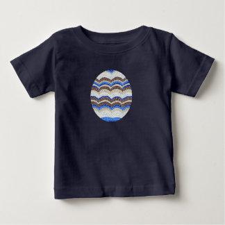 Blue Mosaic Baby Lap T-Shirt