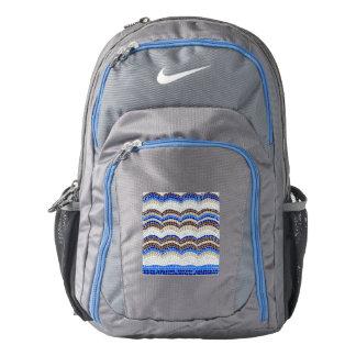 Blue Mosaic Backpack