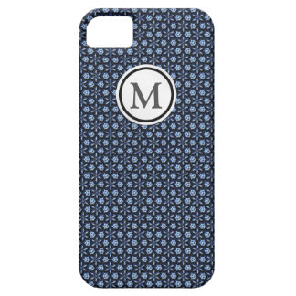 Blue mosaic barely there iPhone 5 case