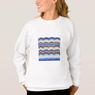Blue Mosaic Girls' Sweatshirt