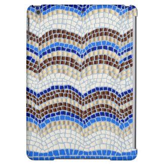 Blue Mosaic Glossy iPad Air Case