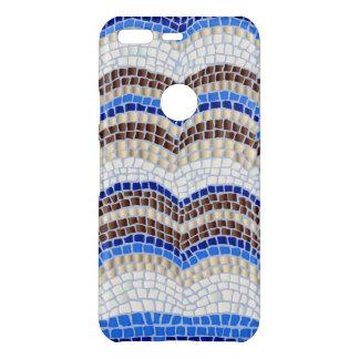 Blue Mosaic Google Pixel Case