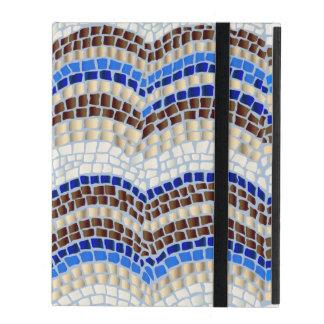Blue Mosaic iPad 2/3/4 Case iPad Covers