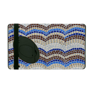 Blue Mosaic iPad 2/3/4 Case with Kickstand Cases For iPad