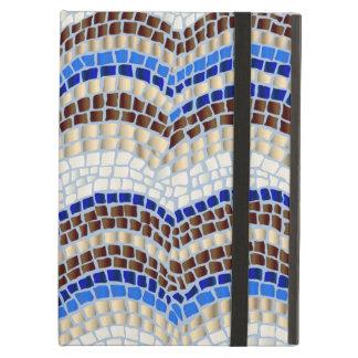 Blue Mosaic iPad Air Case