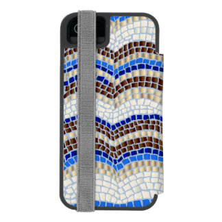 Blue Mosaic iPhone 5/5s/SE Wallet Case Incipio Watson™ iPhone 5 Wallet Case