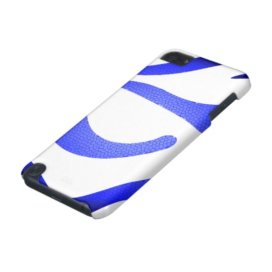 Blue Mosaic iPod Touch 5g iPod Touch (5th Generation) Cover