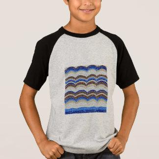 Blue Mosaic Kids' Short Sleeve Raglan T-Shirt