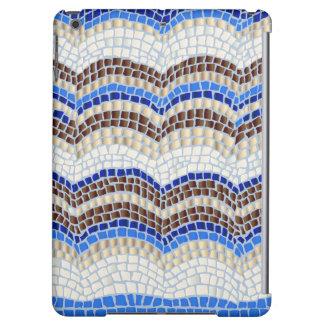 Blue Mosaic Matte iPad Air Case