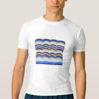 Blue Mosaic Men's Performance T-Shirt