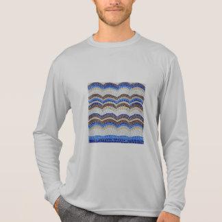 Blue Mosaic Men's Sports Long Sleeve T-Shirt