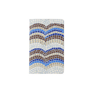 Blue Mosaic Pocket Notebook