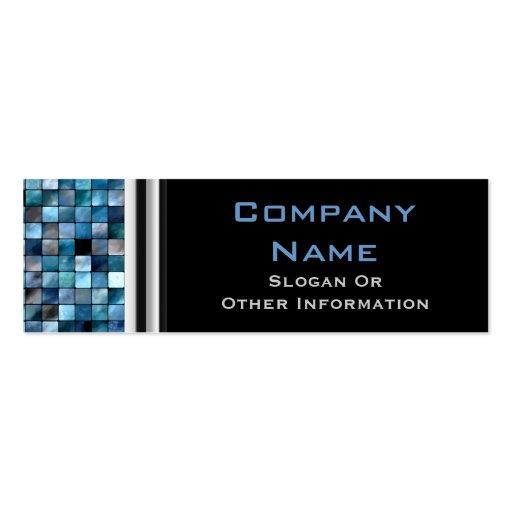 Blue Mosaic Tiles Professional Business Cards